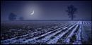 Moonset.