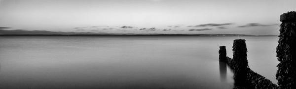 Sunrise in mono by marktc