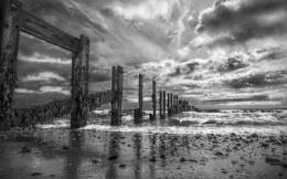 Storm Damaged Sea Defences