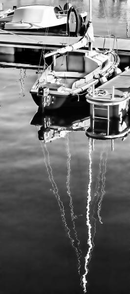 Reflections on Sailing by ErictheViking