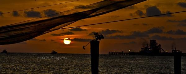 Sunset by pradipdasgupta