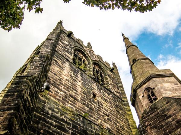 Original Photo - Ormskirk Parish Church by aligray