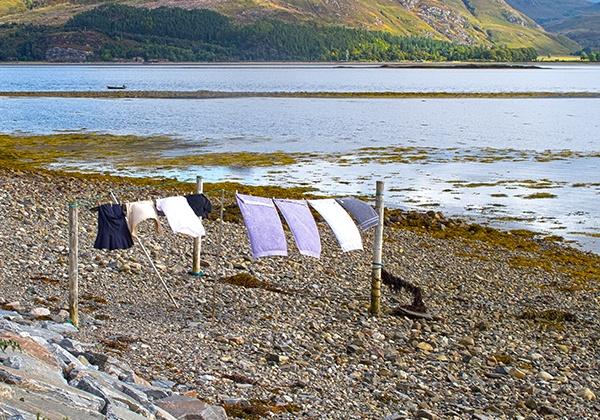 Washday on Loch Carron by bigLol