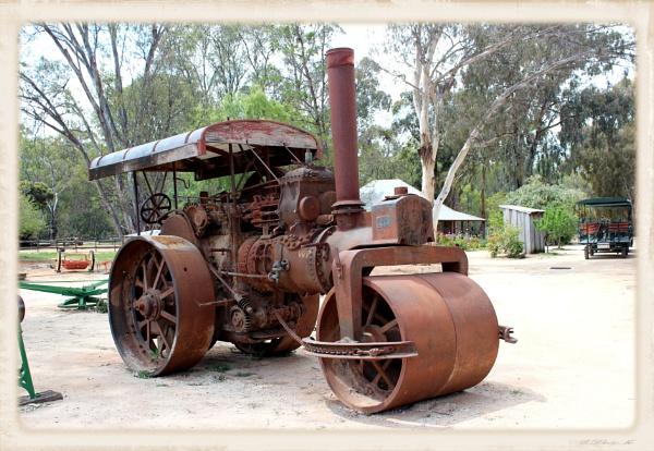 Steam Road Roller by danmclean