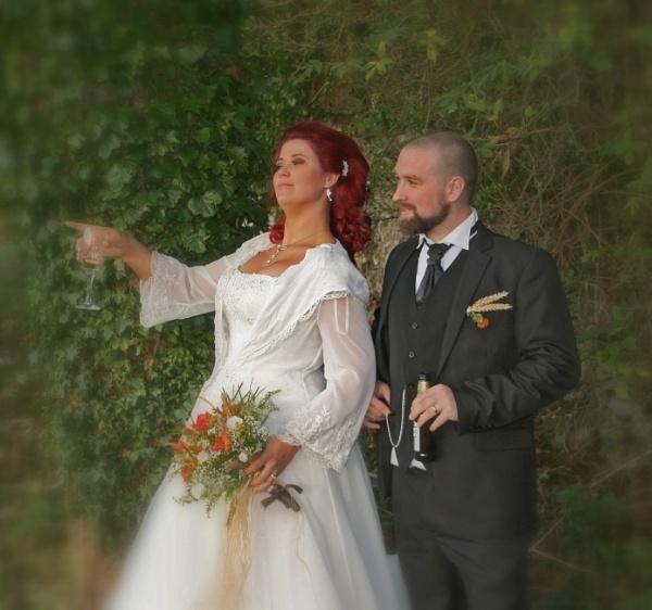 Bride and Groom by STEVELIN