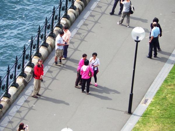 Pentax X5 26 x zomm from Sydney Harbour bridge ( Hand held ) by Regbaron
