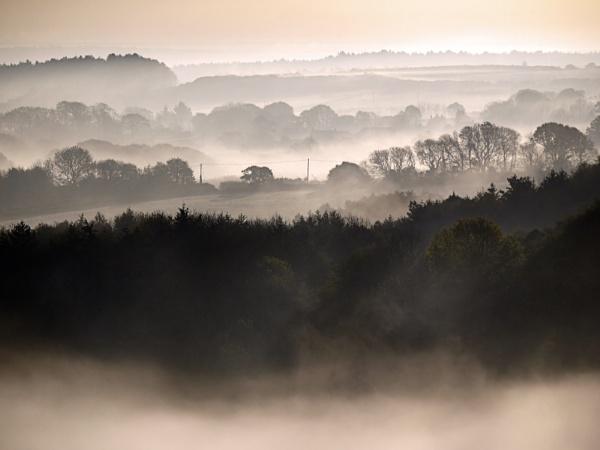 The misty first light by SteveMcHale