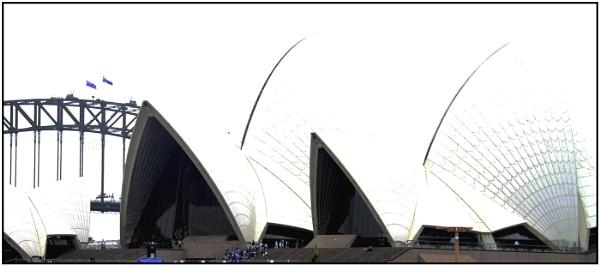 On top of Darling Bridge by Hardwicke