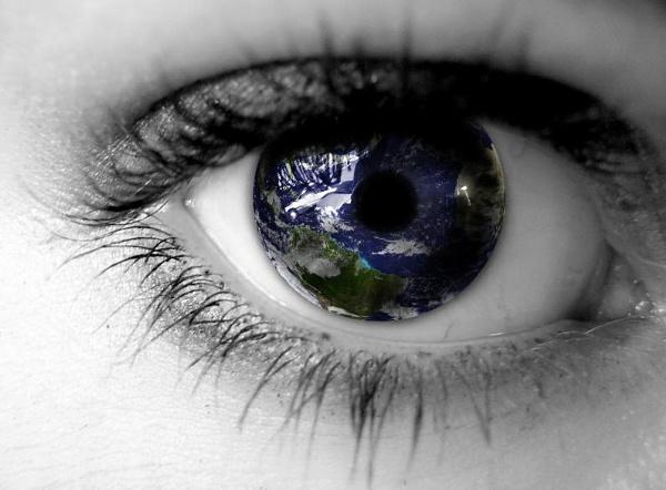 earth in iris by miaallaker
