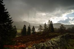 Rain over Grasmere