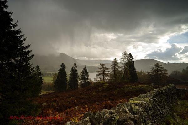 Rain over Grasmere by PaulThetfordPhotography