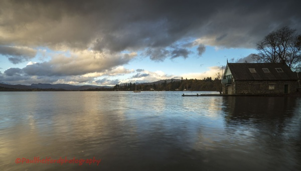 Windermere Boat House by PaulThetfordPhotography
