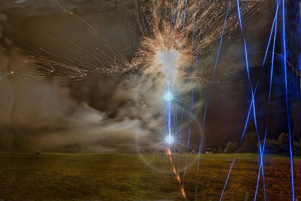 Firework magic by Fotofunguy