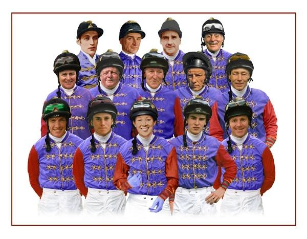 Famous Jockeys by horses4me