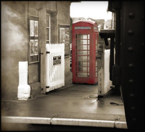 Station Phonebox by bwlchmawr