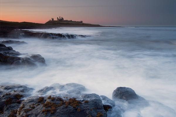Dunstanburgh Castle Sunset by PhilSingleton