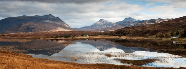 Loch an Loin Panorama... by Scottishlandscapes