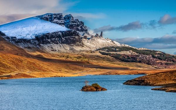 The Storr viewed from across Loch Fada by John_Frid