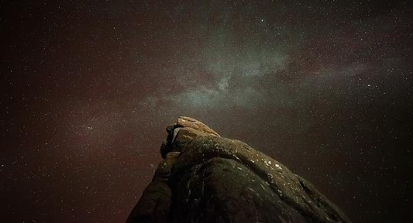The Milky Way on Dartmoor National Park, Devon, England by andyfox