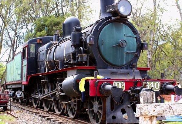 Steam Loco D3 640 originally D3 688 by danmclean