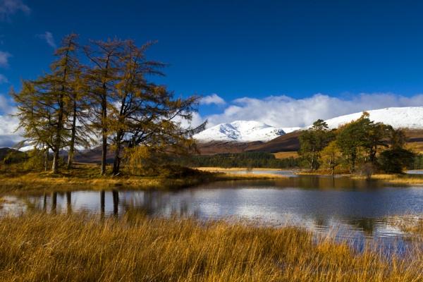 Stob Ghabhar across Loch Tulla by Skinz