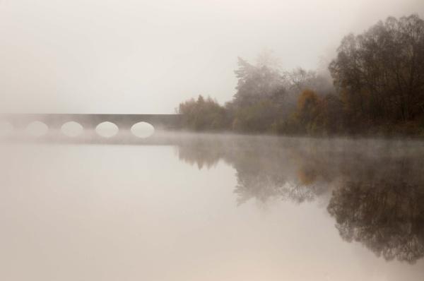 Bridge in the mist by jacks59