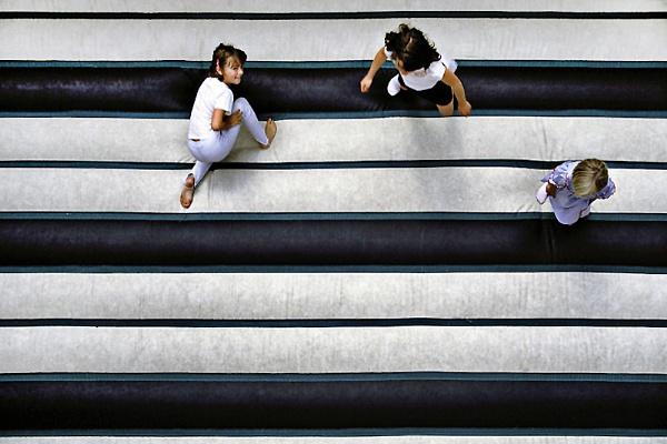 Above the bouncy castle by SteveMcHale