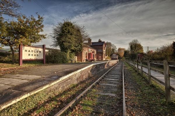 "\""HADLOW ROAD\"" (Restored railway station) willaston north west england) by razorraymac"
