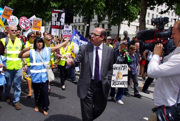 Nick Robinson, BBC News, Central London by tony64