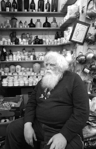 Antique Seller, Portobello Rd Market, London by tony64
