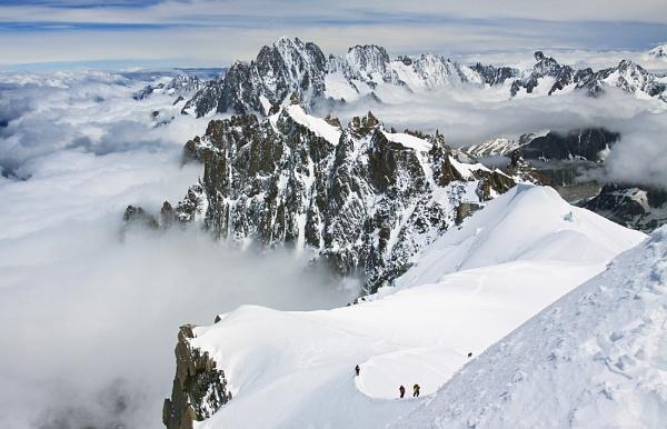Mountain Trek by fishiee