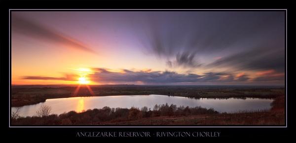 Lancashire sunset by Philpot