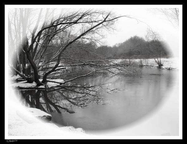 winter pond by kazza12