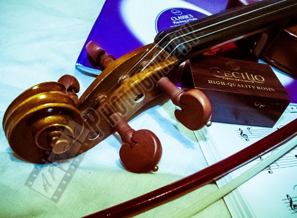 Violin by Bingsblueprint