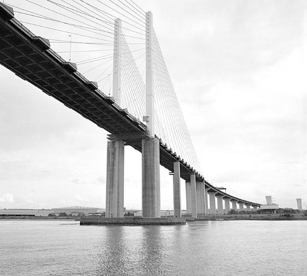 The QE II bridge, Essex/ Kent crossing