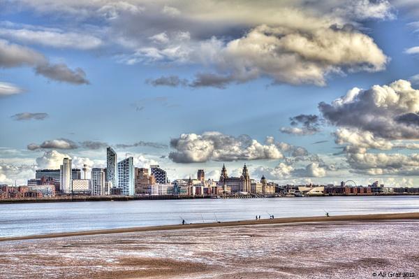 Liverpool Skyline by aligray