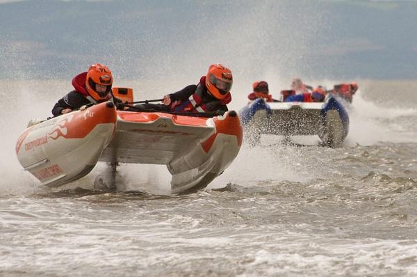 Powerboat racing by franken