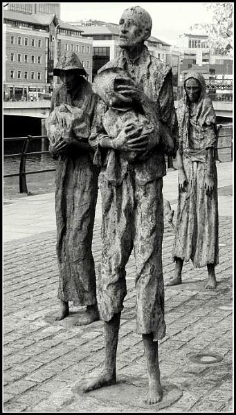 Famine Memorial, Dublin by gardenersteve