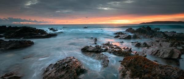 Sunset over Rme by ilocke