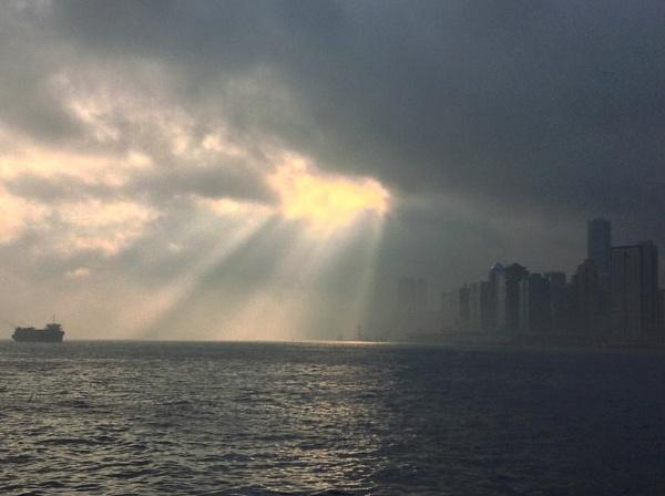 Crackling Sunrise by gjayesh