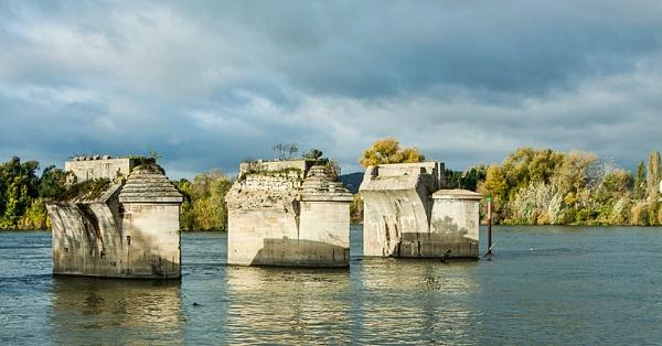 WWII  bridge destruction by GordonLack
