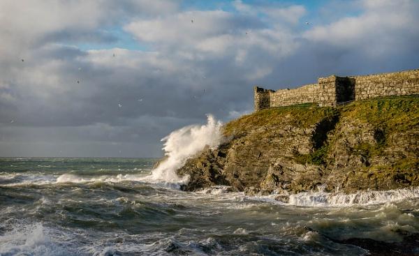 Stormy bay by EdricCross