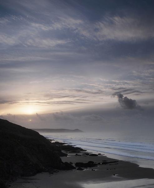 Sunrise over Rame Head by topsyrm