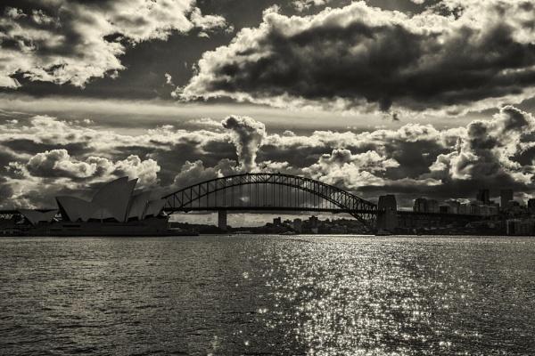Cloudy Mono by OzzyApple