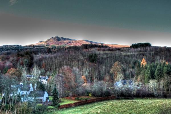 Eildon Hills by StevenMcClure