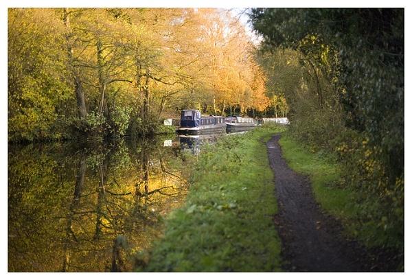 Narrowboats at Stourton by dplatt2000