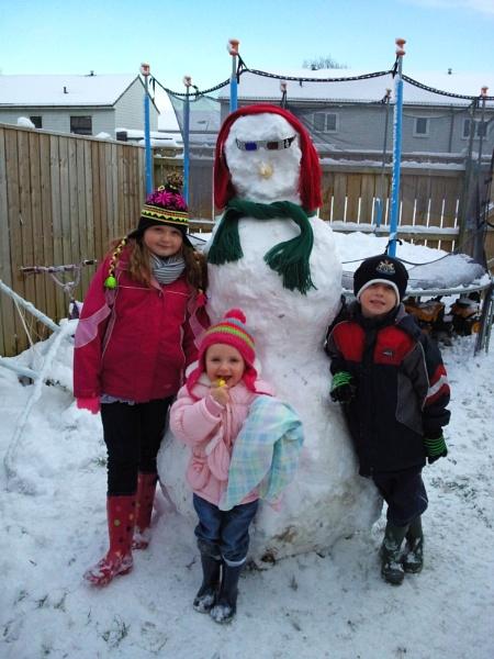 #Snowman by megan99