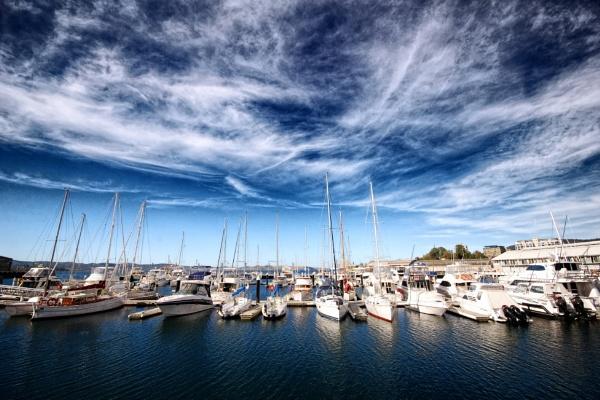 Hobart harbour, Tasmania by sylwia_sylwia