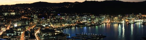 Wellington Harbour New Zealand by photopix12
