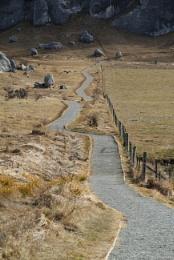 Walkway into Castle Hill